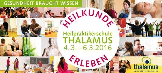 Naturheilkundliche Frühjahrstage, Naturheilkunde erleben, Vorträge und Workshops in der Heilpraktikerschule Thalamus