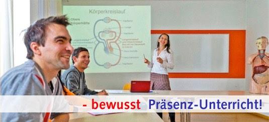 qualitativ hochwertiger Unterricht, Heilpraktikerausbildung bei THALAMUS Heilpraktikerschule Stuttgart