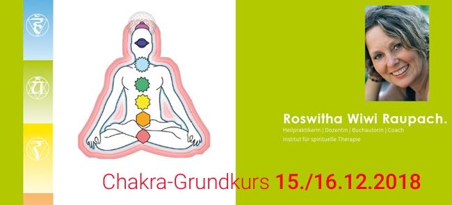 Chakradiagnostik, Chakraharmonisierung, Thalamus Heilpraktikerschule Stuttgart