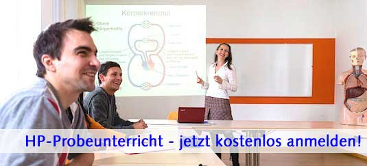 Heilpraktikerausbildung Thalamus Stuttgart, kostenloser Probeunterricht
